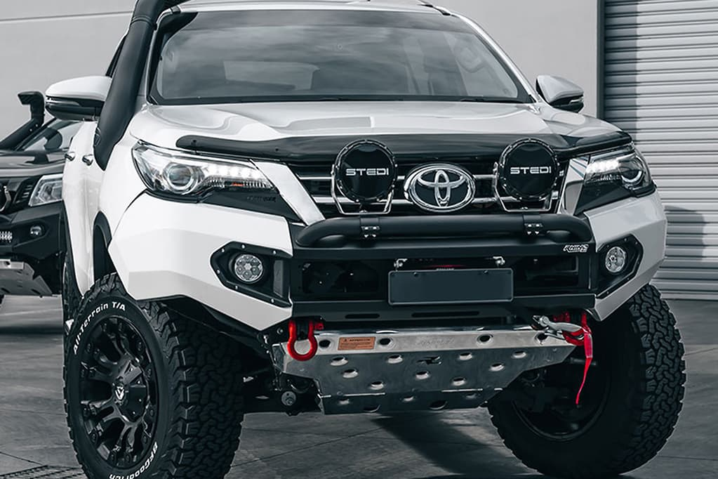 Toyota Fortuner Modified